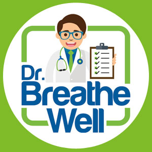 Dr. Breathe Well Logo Cirkel